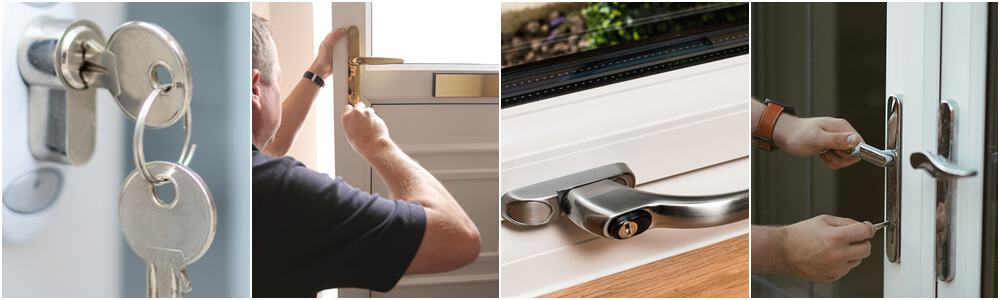 check your uPVC door and frame to see if they need adjusting